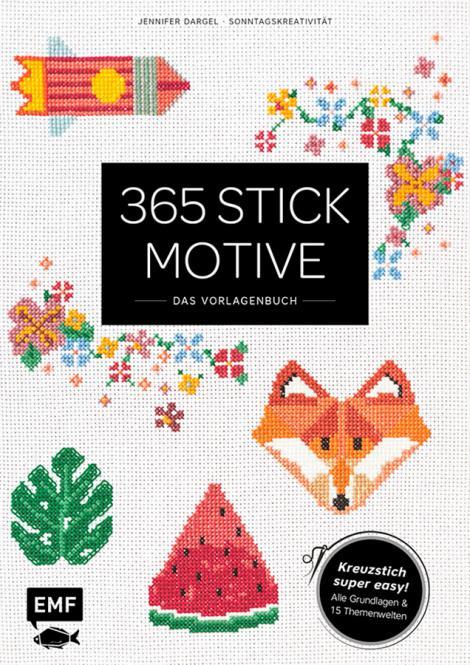 Wholesale 365 Stickmotive Das Vorlagenbuch