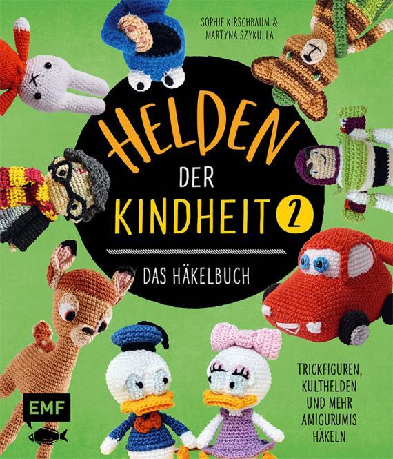 Wholesale Helden der Kindheit Das Häkelbuch Band 2