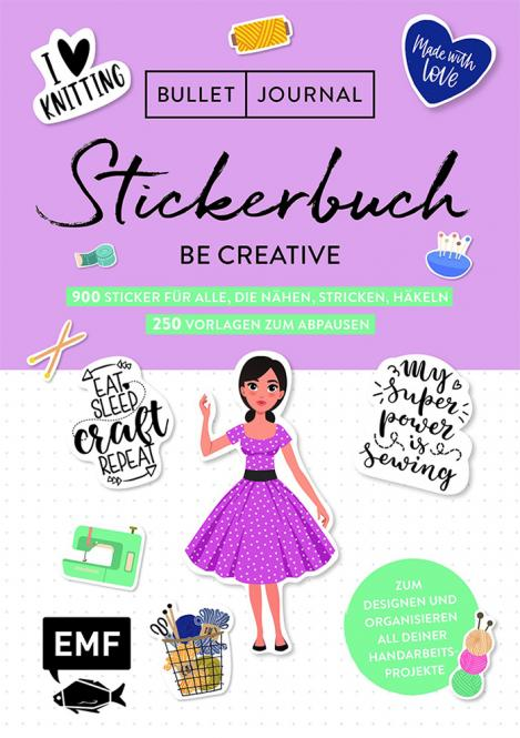 Wholesale Bullet Journal Stickerbuch Be Creative