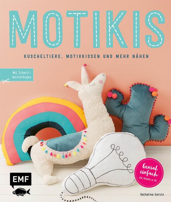 Großhandel Motikis - Kuscheltiere, Motivkissen und mehr nähen