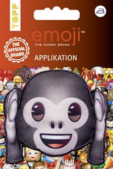 Großhandel Emoji Applikation Affe - nicht hören