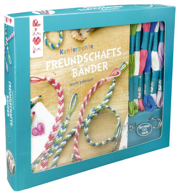 Wholesale Kreativ-Set Kunterbunte Freundschaftsbänder