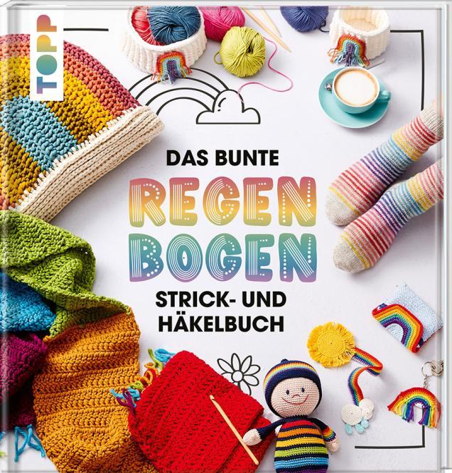 Wholesale Das bunte Regenbogen Strick- und Häkelbuch
