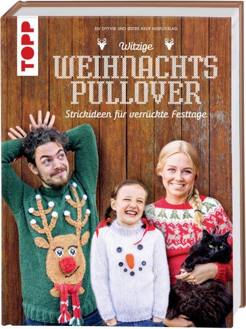 Großhandel Witzige Weihnachtspullover
