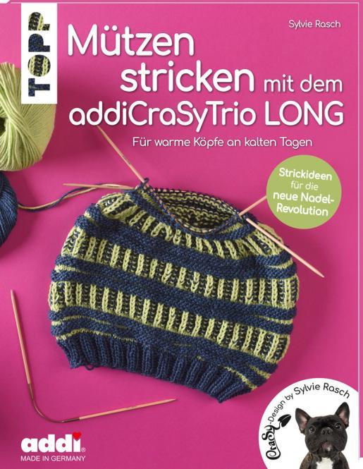 Großhandel Mützen stricken mit dem addiCraSyTrio LONG
