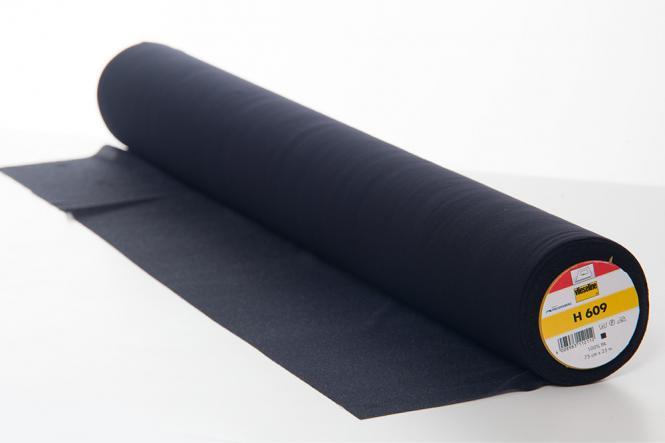 Großhandel H609 Fixierbare Einlage 75cm schwarz