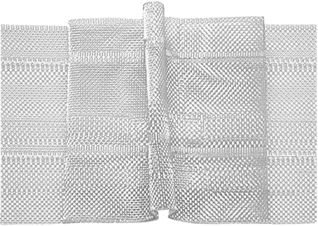 Großhandel Faltenband 50 mm, 3er-Falte 1:2,5, transparent