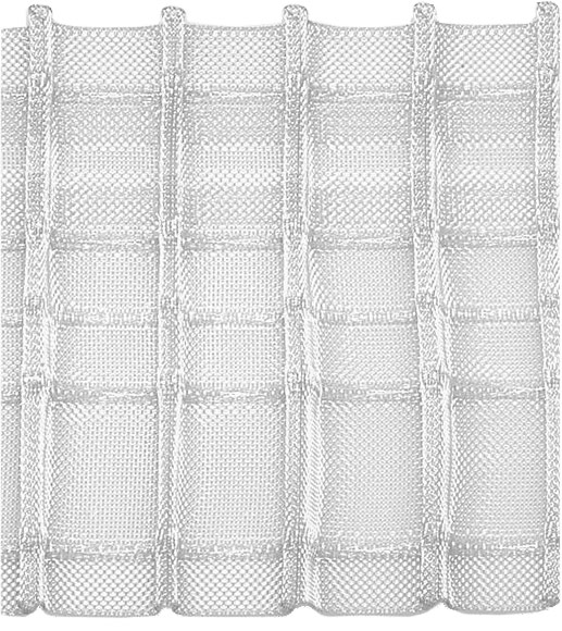 Großhandel Bleistiftfaltenband 80 mm, 1:2,5, transparent