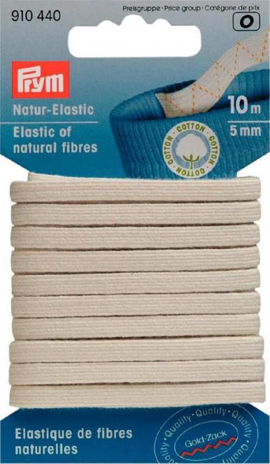 Großhandel Natur-Elastic 5 mm rohweiß