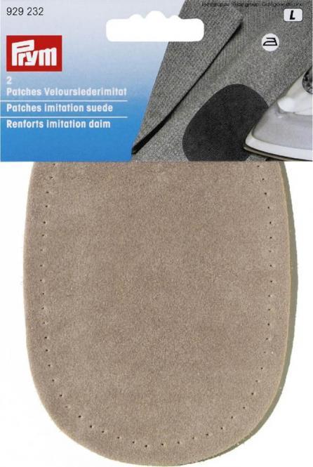 Großhandel Patches Velourslederimitat beige/braun/rot sort.