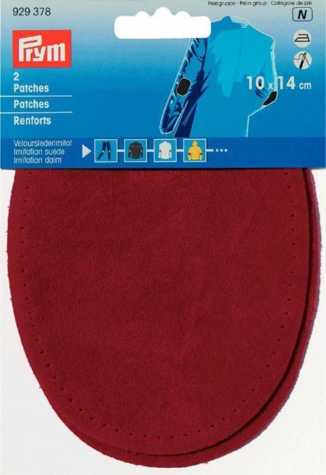 Wholesale Patches Velourslederimitat aufbügelbar 10x14cm