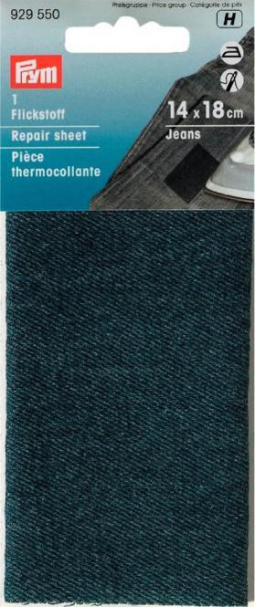 Großhandel Flickstoff Jeans 12x45cm