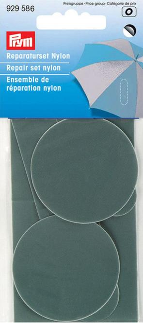 Großhandel Reparaturset Nylon selbstklebend grau
