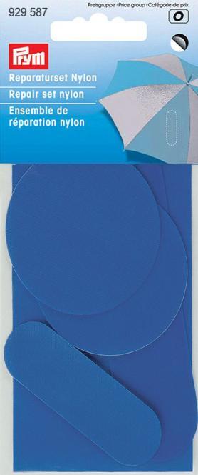 Wholesale Repair set nylon self-adh. blue      5pc