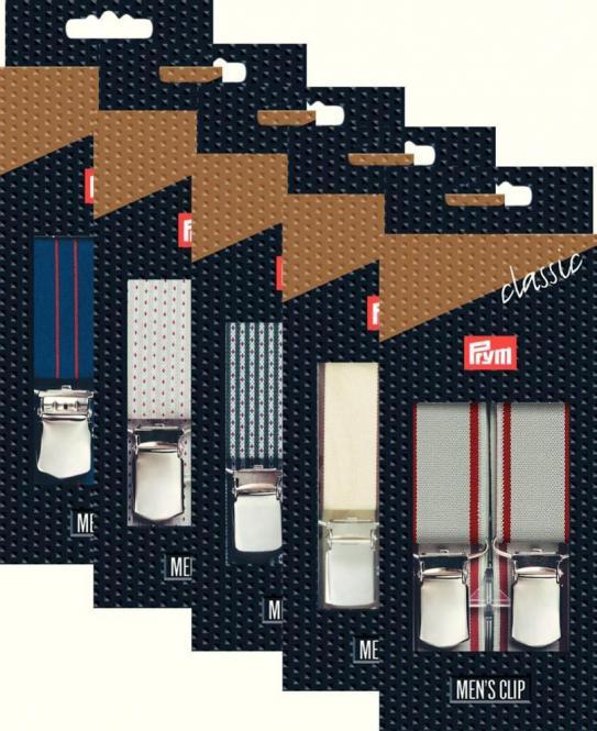 Großhandel Hosenträger Classic-Set 125 cm 30 mm