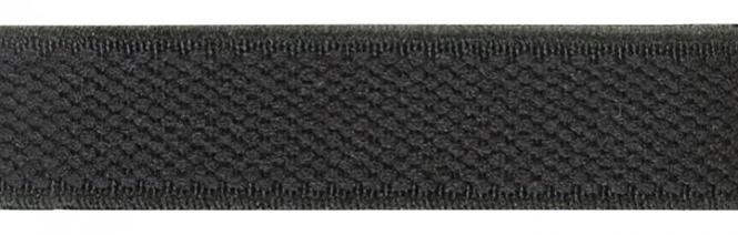 Großhandel Velour-Elastic 15 mm schwarz