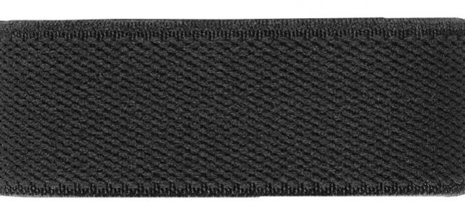 Großhandel Velour-Elastic 25 mm schwarz