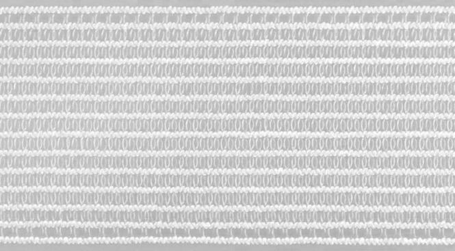 Großhandel Kräusel-Elastic 40 mm weiß