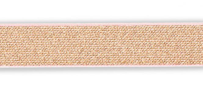 Großhandel Color Elastic 25 mm roségold