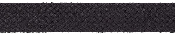 Großhandel Gurtband für Taschen 40 mm schwarz geflochten