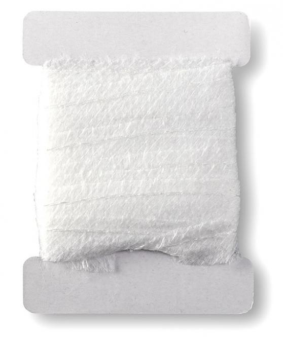 Großhandel Vlies-Formband 12mm weiß