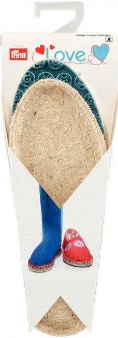 Wholesale Prym Love Espadrilles - Soles Size 28/29 blue