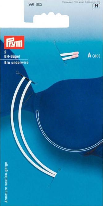 Wholesale Bra underwire size A (80)   white 2pc