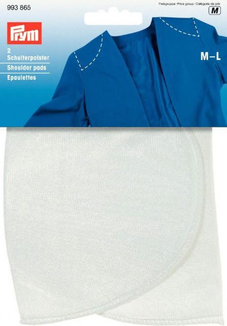 Großhandel Schulterpolster Halbmond PA M-L