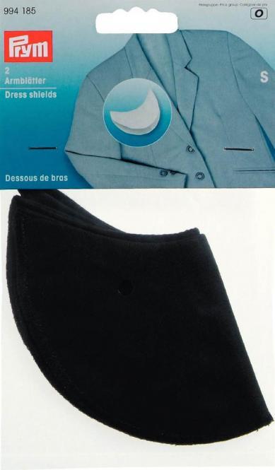 Wholesale Dress shield size S black            2pc