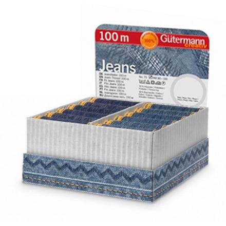 Großhandel Storage and Display Box Jeans 100m 36 Spulen