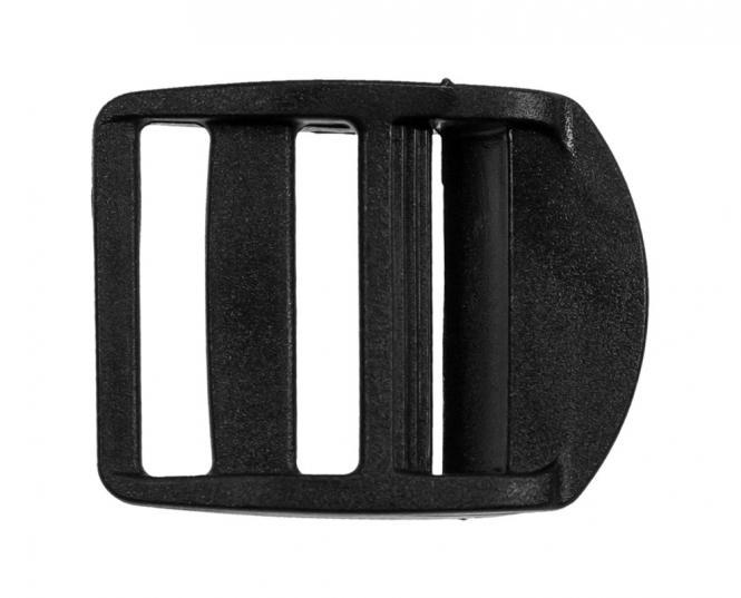 Großhandel Klemm-Leiterschnallen KST 30 mm schwarz 2St