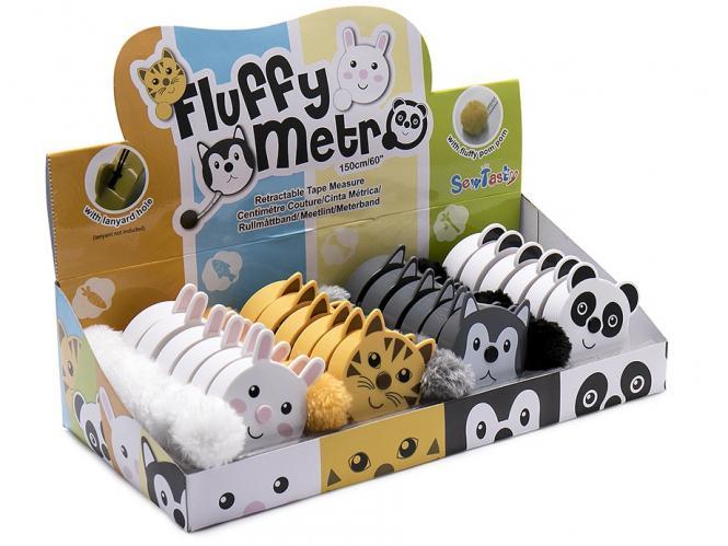 Großhandel Rollmaßband Display Metro Fluffy 4x6St