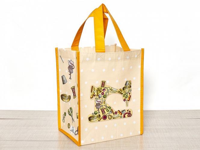 Großhandel Shopping Bag Nähmaschine 24x19x29,5cm