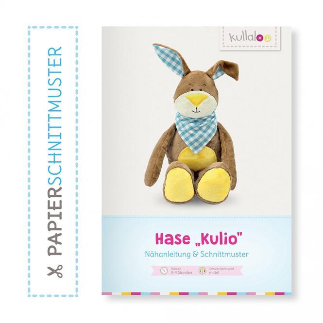 "Großhandel Kullaloo Booklet Hase ""Kulio"" Schnittmuster + Anleitung"