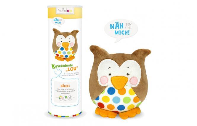 "Wholesale Kullaloo Set Owl ""Lou"" brown"