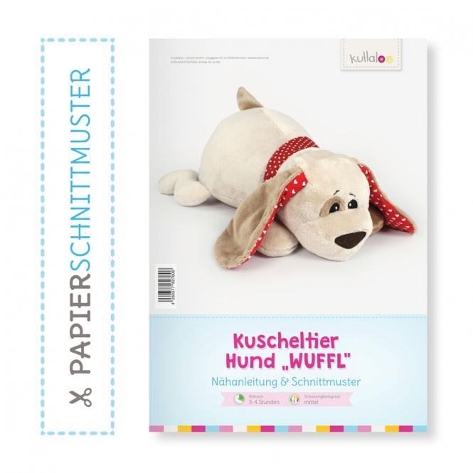 "Großhandel Kullaloo Booklet Hund ""Wuffel"" Schnittmuster + Anleitung"