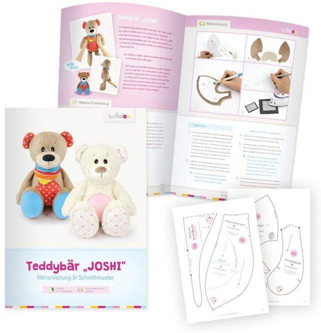 "Großhandel Kullaloo Booklet Teddy ""Joshi"" Schnittmuster + Anleitung"