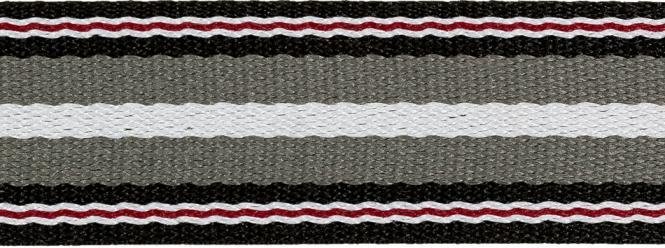 Wholesale Belt Webbing Winter Stripes 40mm