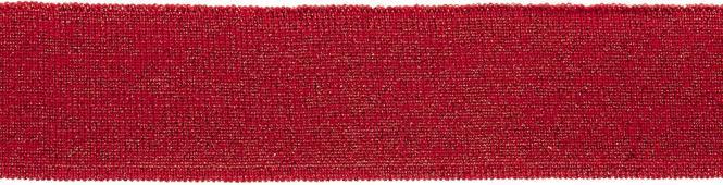 Großhandel Bündchen 45mm rot Lurex
