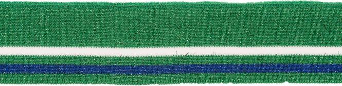 Großhandel Bündchen 45mm grün Lurex