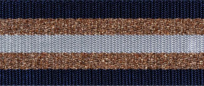 Wholesale Webbing Stripes Lurex 38mm