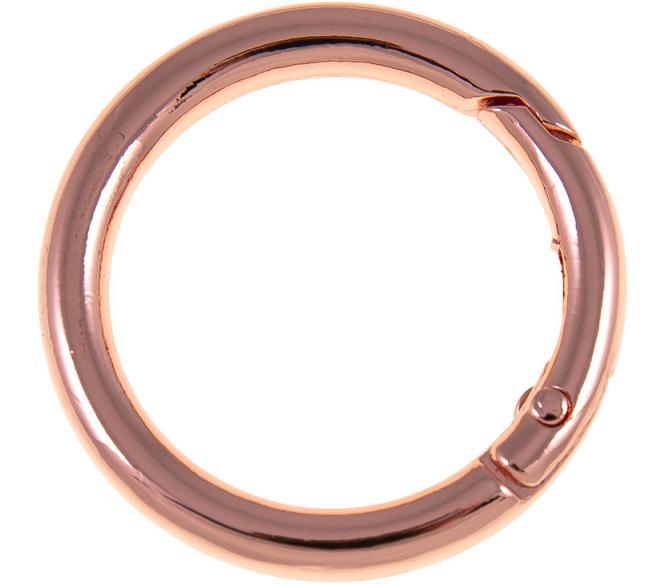 Wholesale bag ring rose 30mm 2pc
