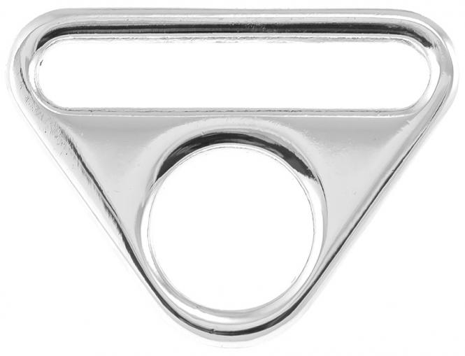 Wholesale O-Ring with bridge silver 40mm