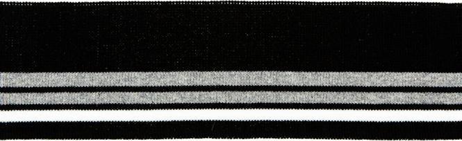 Großhandel Bündchen 70mm schwarz