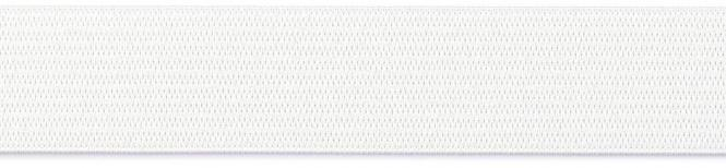 Großhandel Gummiband 30mm weiß 50m