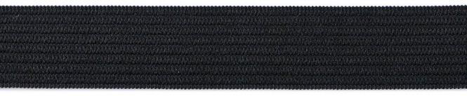 Großhandel Gummiband 25mm schwarz 50m