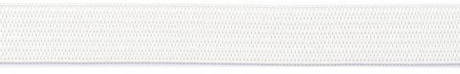Großhandel Gummiband 15mm weiß 150m