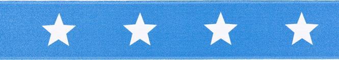 Großhandel Gürtelgummi 40mm Sterne