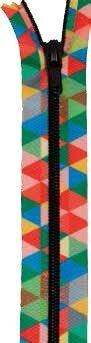 Wholesale Printed Zips 20cm