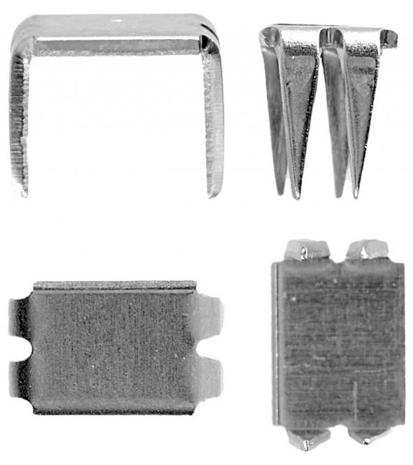 Wholesale At First- And End Parts, Silver Nickel Free